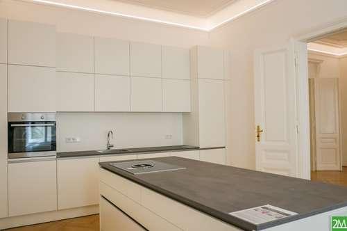Modernisierte 4-Zimmer-Altbauwohnung nahe Stubentor