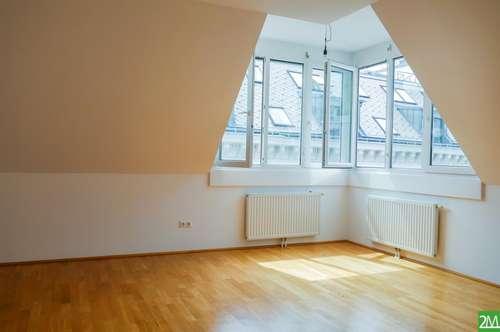 2-Zimmer-Dachgeschoßwohnung nahe Wiedner Hauptstraße