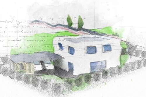 Wohnen im Kubus - EFH 1 in Leonding - PROVISIONSFREI