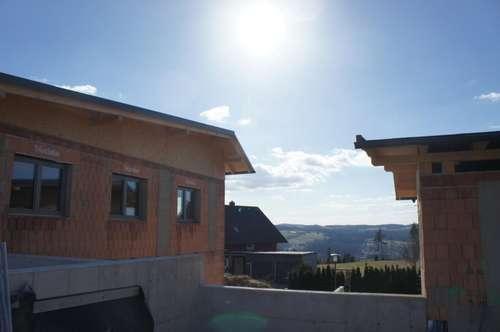Neu errichtete Doppelhaushälfte in Ottenschlag im Mühlkreis mit Fernblick ausserhalb der Nebelzone