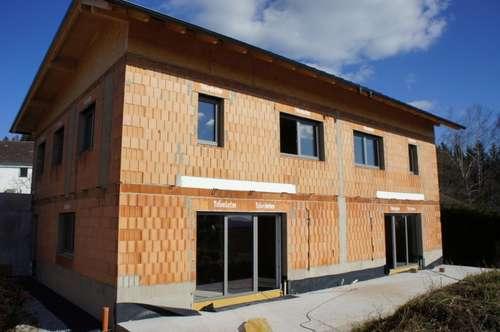 Neu errichtete Doppelhaushälfte in Ottenschlag im Mühlkreis mit Fernblick ausserhalb der Nebelzone - Nähe Reichenau im Mühlkreis