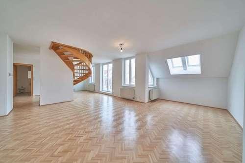 Südseitige 4-Zimmer-Maisonette mit 2 Terrassen & Designküche | nahe Aumannplatz |Garagen optional