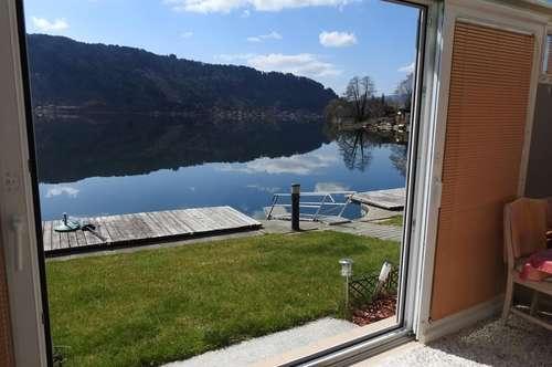 Seltene Gelegenheit - SEEWOHNUNG direkt am Ufer des Ossiacher Sees