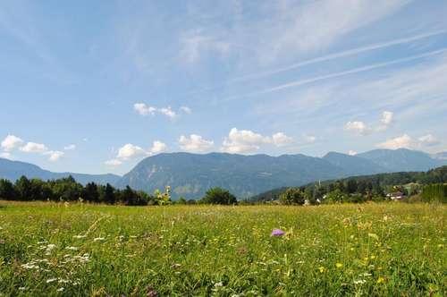 Sonniger BAUGRUND mit Panoramablick - Gemeinde Maria Rain/Toppelsdorf