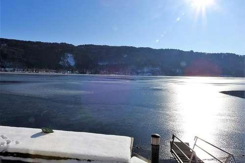 Seltene Gelegenheit - SEEWOHNUNG direkt am Ossiacher See
