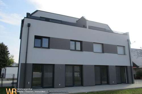 Neubau-Eigentum 115m² Gartenwohnung mit 240m² Garten, 2 KFZ Stellpätze