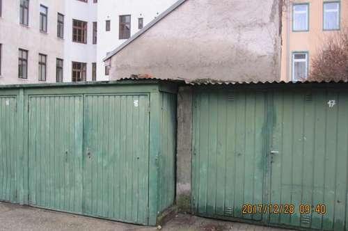 Garagenbox zum Mieten nahe zum 8ten Bezirk bzw. Yppenmarkt