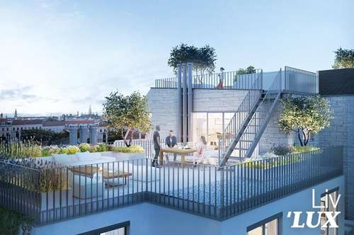 ´LUX PENTHOUSE - PIARISTENGASSE- 390m²- POOL MIT WEITBLICK