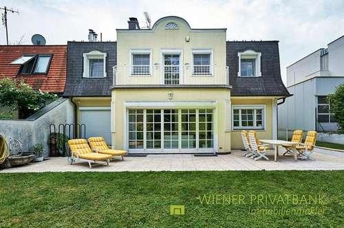 Achtung!! Herrliche Familienvilla mit Garten und Garagen beim Hörndlwald!