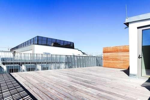 360°! Exklusiver Erstbezug! DG-Wohnung mit großzügiger Terrasse in bester Citylage!