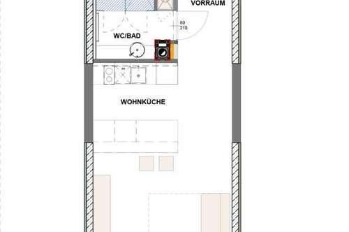 Nette Singlewohnung mit Top Ausstattung in bester Wohngegend