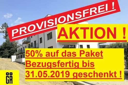 ERSTBEZUG - PROVISIONSFREI für Käufer - 5 Zimmer - RUHIGE LAGE - Wienerwald - NEUBAU - 1.OG Top 12 - INKL. BALKON - SÜDLAGE - BELAGSFERTIG FERTIGGESTELLT