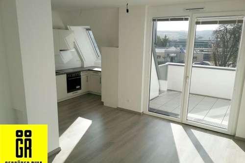 ERSTBEZUG - HELLE BEZUGSFERTIGE 2 Zimmer Wohnung - komplette Küche - BALKON - opt. GARAGENPLATZ - ZENTRALE TOP LAGE KORNEUBURG