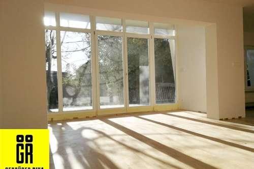 RUHIGE LAGE - ERSTBEZUG nach KOMPLETTSANIERUNG - Baurechtsgrund mit saniertem Einfamilienhaus - GARAGE