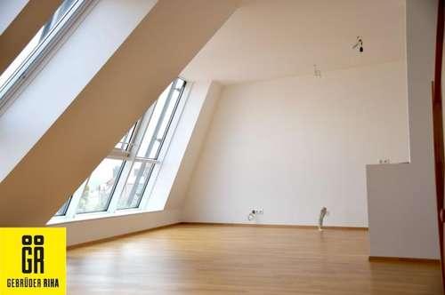 HELLE 3-Zimmer MAISONETTEN Dachgeschosswohnung - Top 17- mit traumhaftem Ausblick - Zentrum Korneuburg - KLIMA - opt. GARAGENPLATZ - TERRASSE - PANORAMAFENSTER - Terrasse hofseitig - Nähe Bahnhof