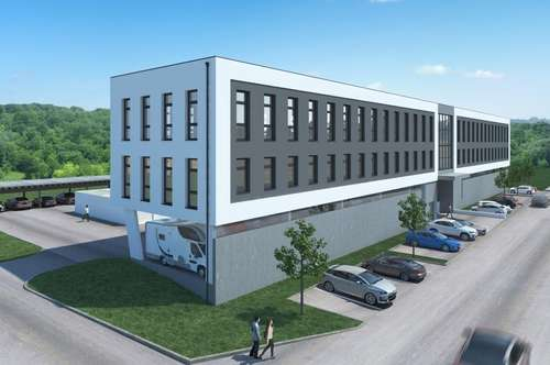 Büro- u. Garagenpark Ottensheim - Abstellflächen für PKW's, Minibusse und Wohnmobile