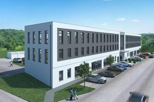 moderne Büroflächen von 75,60 m² bis 183,56 m² im Büro- u. Garagenpark Ottensheim