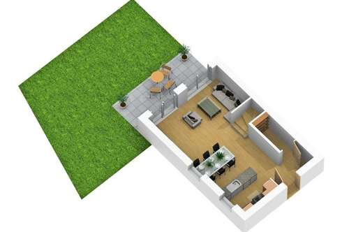 NEUBAUPROJEKT: Sonnendurchflutete 4-Zimmer-Gartenwohnung