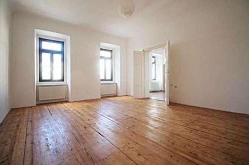 Wohnen im Grazer Stadtzentrum - Sanierte 3 Zimmerwohnung mit  Westbalkon