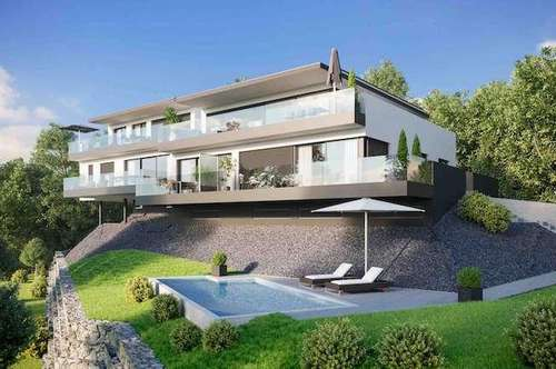 Wohnvilla Sonnenhang, mit eigenem Seezugang und Swimmingpool!
