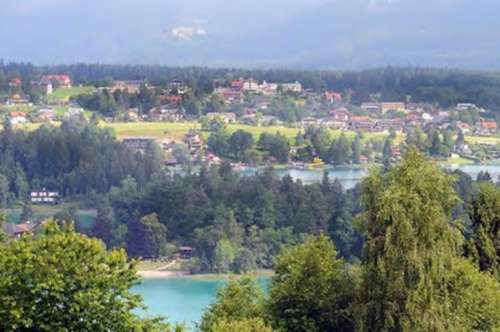 NEU! Tolle Mietwohnung mit traumhaften Seeblick am Faaker See!
