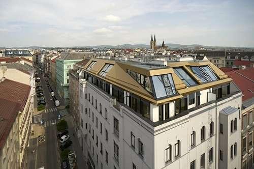 Traumhaftes Dachgeschoß! 4-Zimmer-Erstbezug mit 3 Terrassen