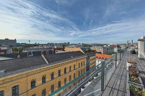 DESIGN-PENTHOUSE nächst Rochusmarkt mit 3 Terrassen und Garagen-Option
