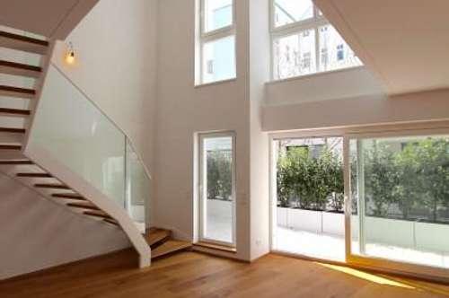 EUM - Terrassen-Maisonette im Servitenviertel! Hochwertiger 5-Zimmer-Neubau mit luftiger Galerie