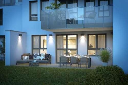 EUM - Upper West 119! Neubau-Maisonette mit 4 Zimmern, Ost-Terrasse und großem Garten