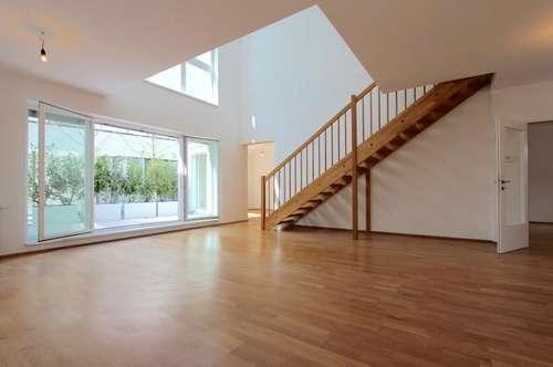 Hofseitige Maisonette im Servitenviertel! Ruhiger 3-Zimmer-Neubau mit 3 Terrassen