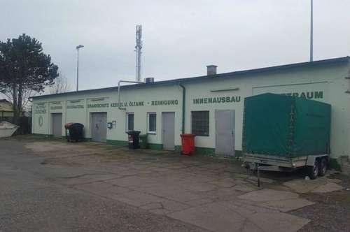 Lagerfächen mit kleinem Büro in St. Pölten/Krankenhausnähe