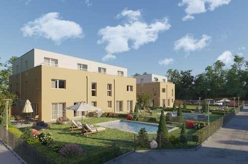 Doppelhäuser in Brunn am Gebirge, großzügige Gartenfläche, Fernblick, gute Infrastruktur