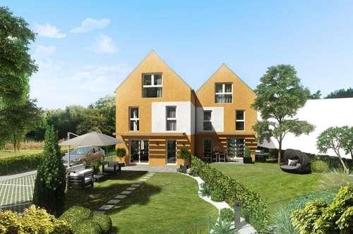 Neues, wunderschönes Doppelhaus mit südseitigen Garten im Zentrum von Guntramsdorf