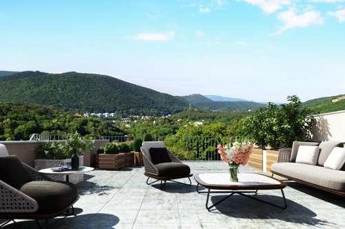 Exklusives, großzügiges Doppelhaus mit großem ebenem Garten