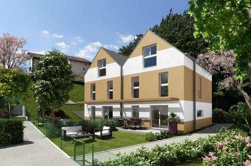 Wunderschöne und moderne Doppelhäuser mit herrlichem Ausblick über den Wienerwald
