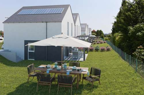 Rarität! Doppelhaus in Sooß, in herrlicher Ruhelage mit Fernblick, tolle Infrastruktur
