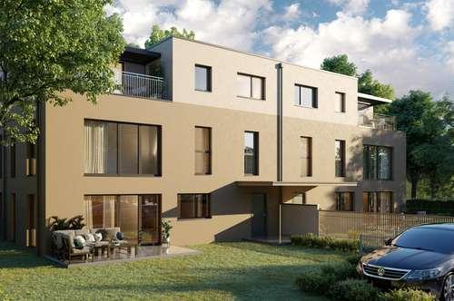 Exklusive, moderne Doppelhäuser in Hinterbrühl (Zentrum), großer Garten, Nähe Naturpark Föhrenberge