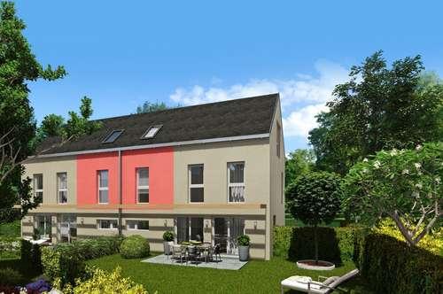 Modernes Doppelhaus in ruhiger Lage mit schönen Fernblick in Wien-Essling