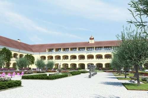 Erstbezug – Schloss Neusiedl – Wohnung mit Loggia – T 1.20