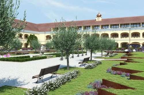 Erstbezug – Schloss Neusiedl – Wohnung mit Loggia – T 1.33