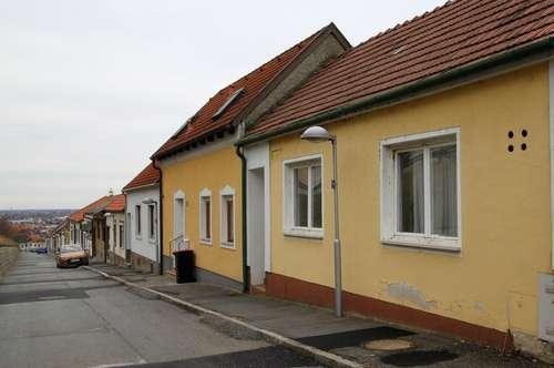 Sanierungsbedürftiges Wohnhaus in der Goldberggasse in Neusiedl am See