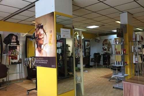 Friseursalon mit Einrichtung, Lager und GmbH