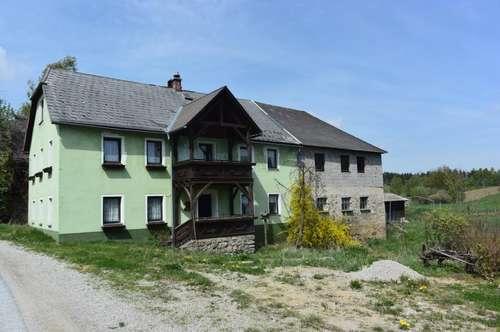 Ehemaliges Bauernhaus im Waldviertel