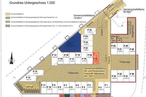 Tiefgaragenplatz in Reutte