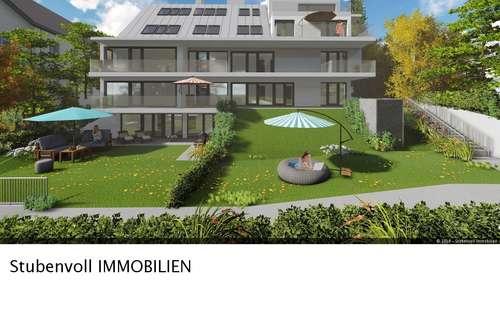 Neubau Grünruhelage mit Wienblick und großen Eigengarten - Erstbezug Frühjahr 2020