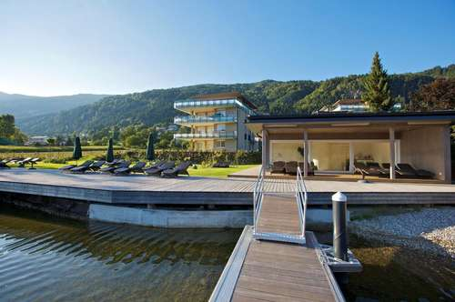 Luxus Apartments direkt am Ossiacher See