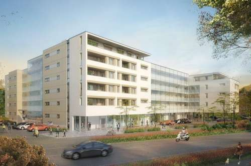 Neubau-Geschäftsflächen in zentrumsnaher Lage von Klagenfurt
