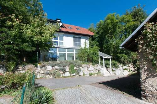 Doppelhaushälfte mit Schwimmteich und Stadl in St. Martin