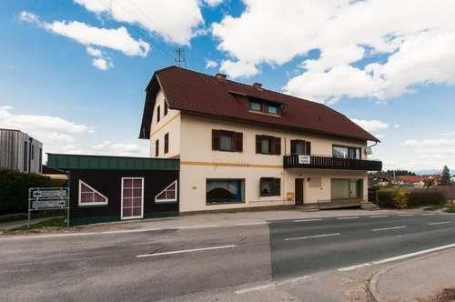 RESERVIERT !! Wohn- und Geschäftshaus in Stein im Jauntal