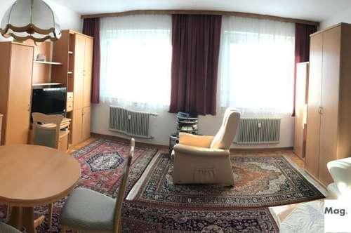 Innenstadtnähe: 2 Zimmer Mietwohnung, voll möbliert, komplett ausgestattet!